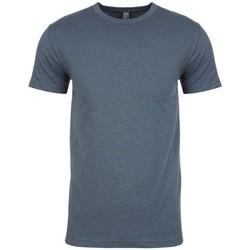 Textiel Heren T-shirts korte mouwen Next Level NX6210 Indigo