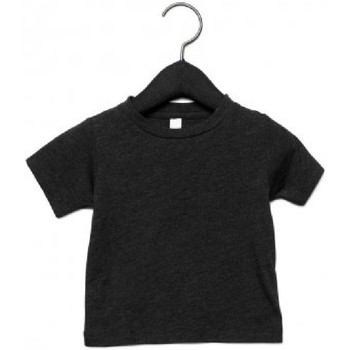 Textiel Kinderen T-shirts korte mouwen Canvas CA3413T Houtskool Zwarte Triblend