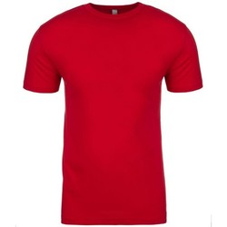 Textiel T-shirts korte mouwen Next Level NX3600 Rood