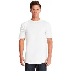 Textiel Heren T-shirts korte mouwen Next Level NX3602 Wit