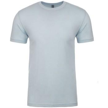 Textiel T-shirts korte mouwen Next Level NX3600 Lichtblauw