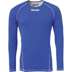 Textiel Heren T-shirts met lange mouwen Kempa Maillot de compression ML  Attitude bleu roi