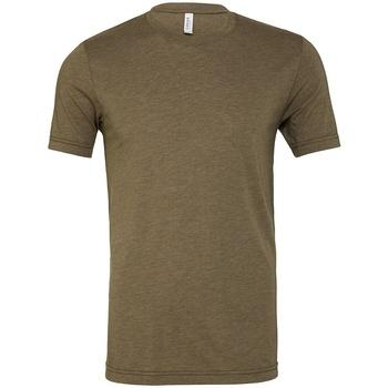 Textiel T-shirts korte mouwen Bella + Canvas CV3413 Militair Groen