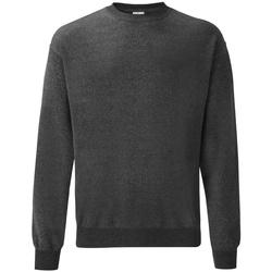 Textiel Heren Sweaters / Sweatshirts Fruit Of The Loom SS9 Donker Heather