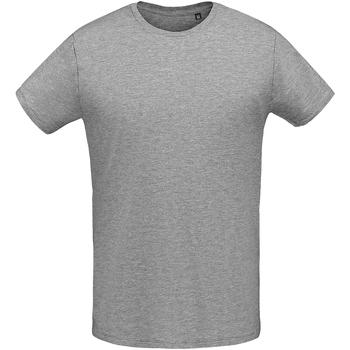 Textiel Heren T-shirts korte mouwen Sols 02855 Grijze Mergel