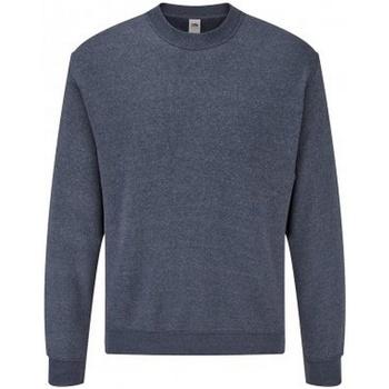 Textiel Heren Sweaters / Sweatshirts Fruit Of The Loom SS9 Heather Marine