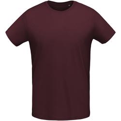 Textiel Heren T-shirts korte mouwen Sols 02855 Ossenbloed