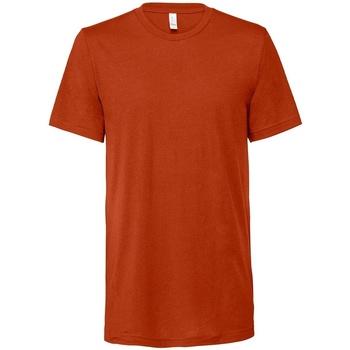 Textiel T-shirts korte mouwen Bella + Canvas CV3413 Baksteen Triblend