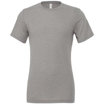 Textiel T-shirts korte mouwen Bella + Canvas CV3413 Atletisch Grijs Triblend
