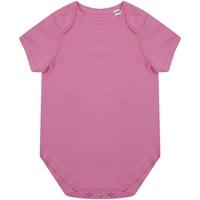 Textiel Kinderen Jumpsuites / Tuinbroeken Larkwood LW655 Helder Roze