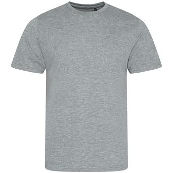 Textiel Heren T-shirts korte mouwen Awdis JT001 Heide Grijs
