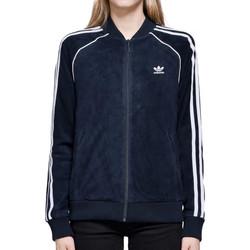 Textiel Dames Trainings jassen adidas Originals  Blauw