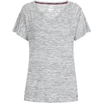 Textiel Dames T-shirts korte mouwen Trespass  Zwarte Strepen