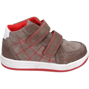 Schoenen Jongens Hoge sneakers Didiblu Baskets BK202 Marron