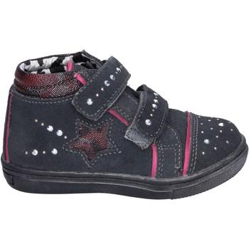 Schoenen Meisjes Hoge sneakers Didiblu Baskets BK203 Gris