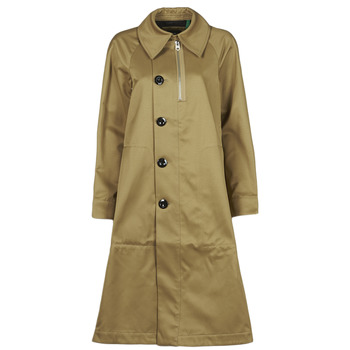 Textiel Dames Trenchcoats G-Star Raw TRENCH WMN Beige