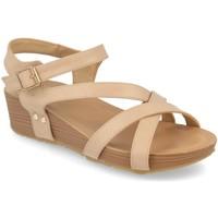 Schoenen Dames Sandalen / Open schoenen Encor D063 Beige