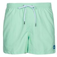 Textiel Heren Zwembroeken/ Zwemshorts Quiksilver EVERYDAY VOLLEY 15 Turquoise