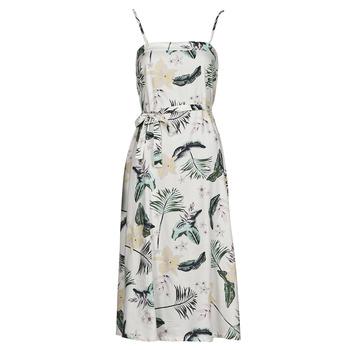 Textiel Dames Lange jurken Roxy NOWHERE TO HIDE Wit