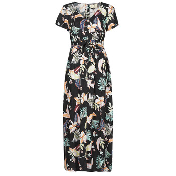 Textiel Dames Lange jurken Roxy A NIGHT TO REMEMBER Zwart