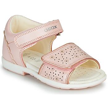 Schoenen Jongens Sandalen / Open schoenen Geox B VERRED Roze