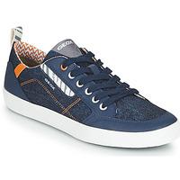 Schoenen Jongens Lage sneakers Geox JR KILWI GARÇON Blauw