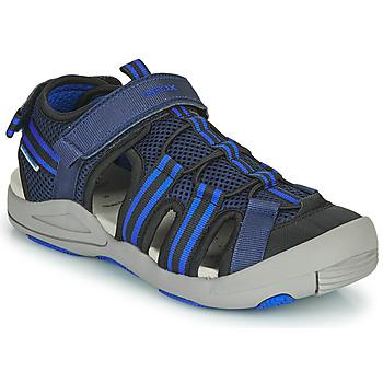 Schoenen Sandalen / Open schoenen Geox JR SANDALE KYLE Blauw