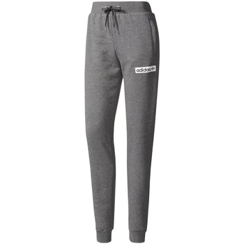 Textiel Dames Trainingsbroeken adidas Originals Fleece Gris