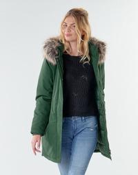 Textiel Dames Parka jassen Only ONLKATY PETITE Kaki