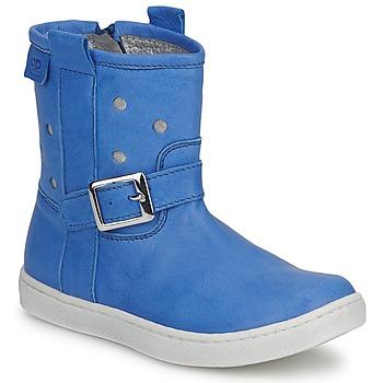 Schoenen Meisjes Laarzen Pinocchio RABIDA Blauw