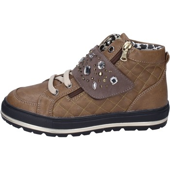 Schoenen Meisjes Sneakers Didiblu Baskets BK210 Marron