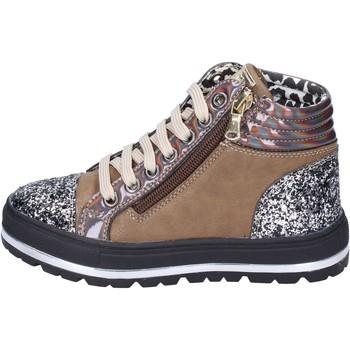 Schoenen Meisjes Sneakers Didiblu Baskets BK212 Marron