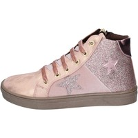 Schoenen Meisjes Sneakers Asso sneakers pelle sintetica glitter Rosa