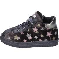 Schoenen Meisjes Sneakers Asso sneakers velluto pelle sintetica Grigio