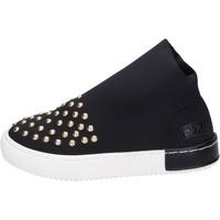 Schoenen Meisjes Sneakers Joli Baskets BK236 Noir