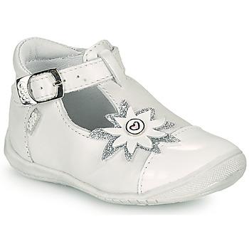 Schoenen Meisjes Ballerina's GBB EFIRA Wit