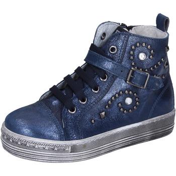 Schoenen Meisjes Sneakers Eb sneakers pelle Blu