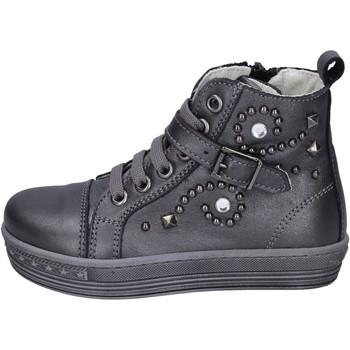 Schoenen Meisjes Hoge sneakers Eb sneakers pelle Grigio