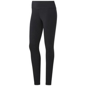 Textiel Dames Leggings Reebok Sport TE Cotton Legging Noir