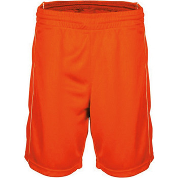 Textiel Heren Korte broeken / Bermuda's Proact Short  Basket-Ball orange
