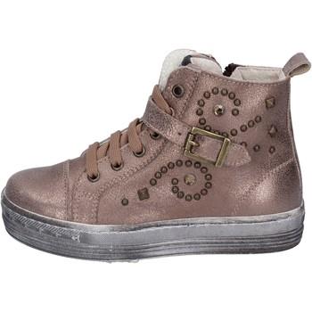 Schoenen Meisjes Lage sneakers Eb sneakers pelle Marrone