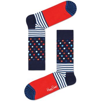 Accessoires Heren Sokken Happy Socks Stripes and dots sock Multicolour
