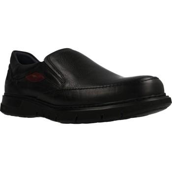 Schoenen Heren Mocassins Fluchos F0249 Zwart