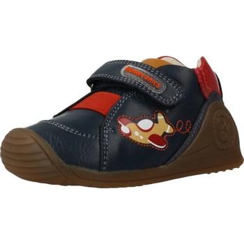 Schoenen Jongens Lage sneakers Biomecanics 201127 Blauw
