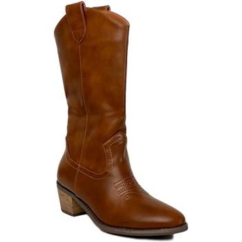 Schoenen Dames Hoge laarzen Prisska TY1036 Camel