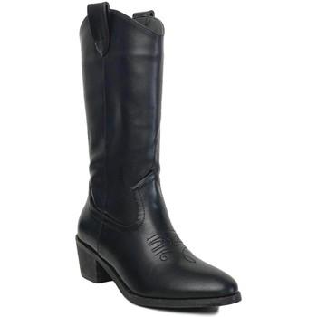 Schoenen Dames Hoge laarzen Prisska TY1036 Negro