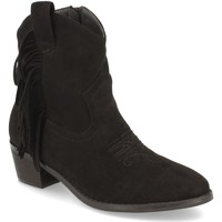 Schoenen Dames Enkellaarzen Prisska TY1038 Negro