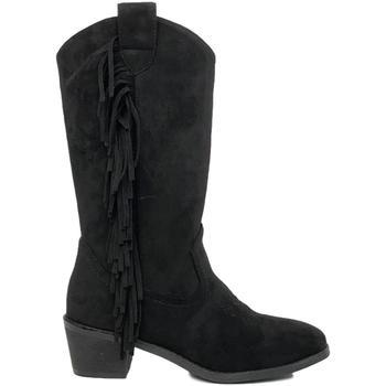 Schoenen Dames Hoge laarzen Prisska TY1039 Negro