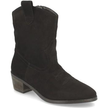 Schoenen Dames Enkellaarzen Prisska TY1060 Negro