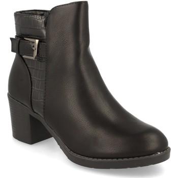 Schoenen Dames Enkellaarzen Prisska YC8350 Negro